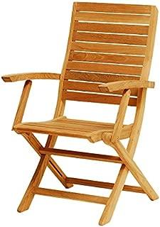 Atlanta Teak Furniture - Teak Folding Chair - Grade-A