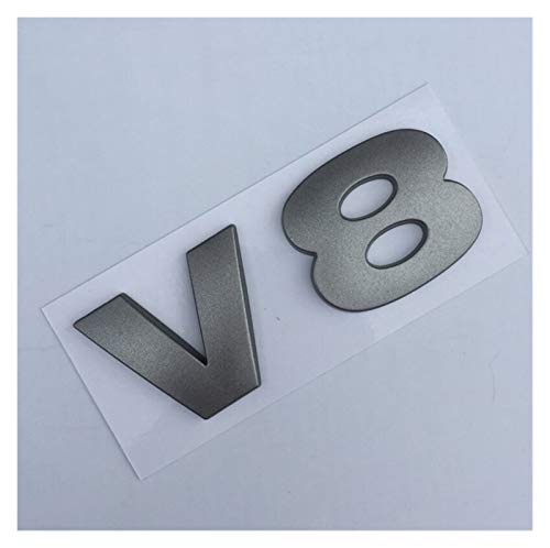 Emblema De Repuesto Cartas Emblema Insignia Compatible con Range Land Range ROVER SPORT V8 HSE HSE STYLING TRANSPORTE TRANSPORTE ELLIPSE LOGO ETIQUETA GLOSSY BLACK MATE SILLADO ROJO Placa de nombre