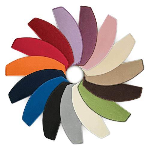 Kettelservice-Metzker Stufenmatten Vorwerk Uni Rainbow - 15er SparSet - Hier hat Jede Stufe ihre eigene Farbe