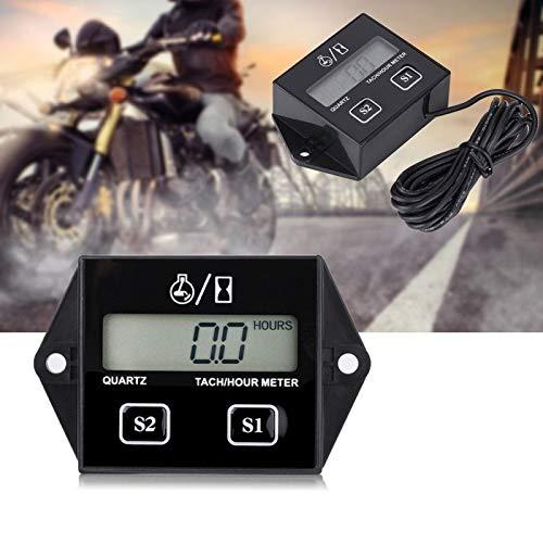 WY-YAN Tacómetro electrónico del Motor Muestra Digital Medidor de inducción de neumático Splash PROBLICA PROBLICA PVEOMÓMETRO INDUTOR for MOTORCOCLE