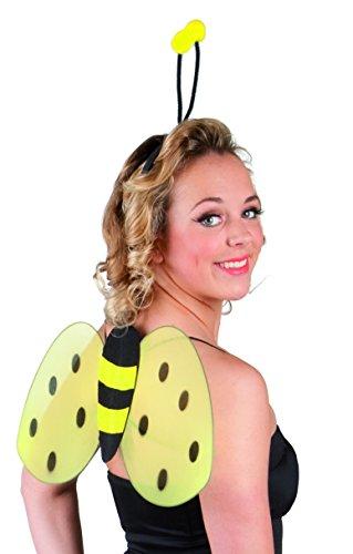 Boland 52852 - Kostümset Biene, Haarreif und Flügel