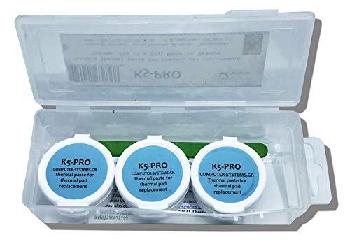 K5 PRO pasta termica viscosa per 60g sostituzione pad termico 3X20g pack compatibile con Apple iMac, Sony PS4 e PS3, XBOX, Acer Aspire ecc)