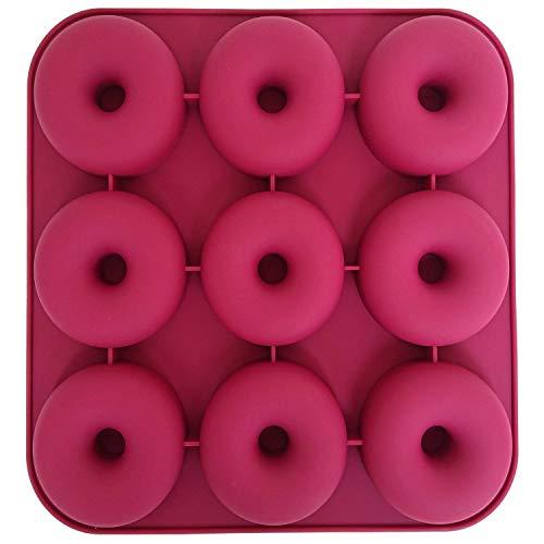 9 Cavity SiliconeDonut Pan