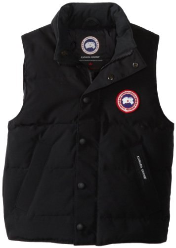 Canada Goose Youth Vanier Vest (Military Green, X-Small)