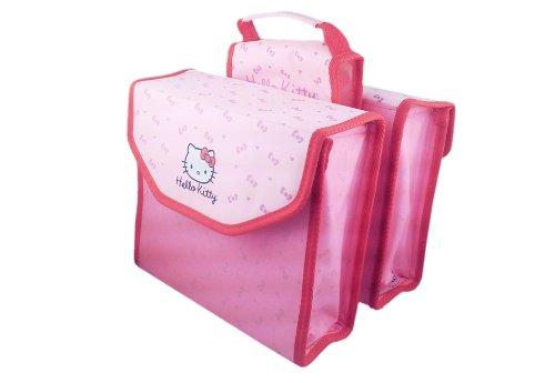 Bike Fashion Hello Kitty Sac à dos double Rose 35 x 27 x 21 cm