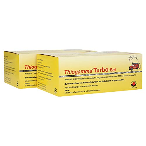 THIOGAMMA Turbo Set Injektionsflaschen 500 ml Injektionsflaschen