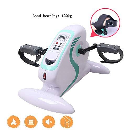 Yajun Mini Heimtrainer Stepper Fitness Magnetische Steuerung Pedal Office Home Tragbare Laufmaschine Training für den gealterten Indoor Hausierer