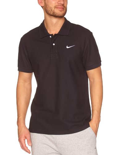 Nike Classic Pique Polo Manches Courtes Homme Noir FR : S (Taille Fabricant : S)