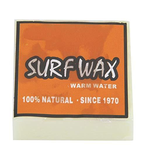 Broco Qualitäts-Anti-Rutsch-Surf Wax Surfbrett Skimboard Skateboard Wachse (orange)