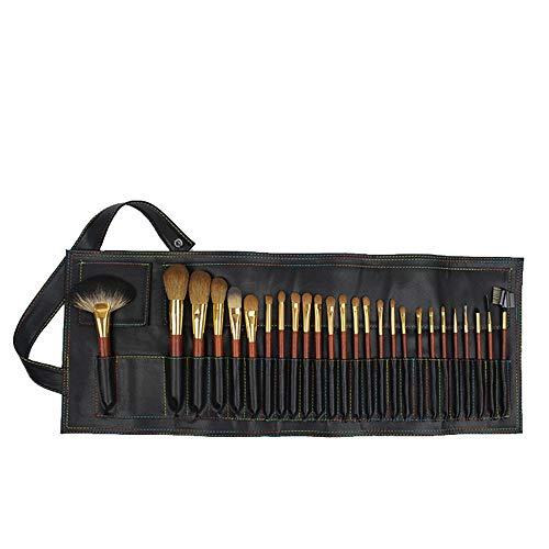 NEHARO Spazzola Professionale di Trucco Set 26 Trucco Professionale Pennelli Portatile Pu Trucco Brush Bag...
