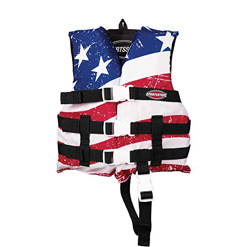 SportStuff Children's Stars and Stripes Life Jacket