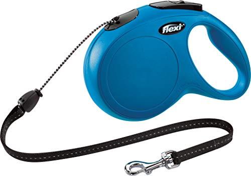 flexi New Classic M Seil 8 m blau für Hunde bis 20 kg