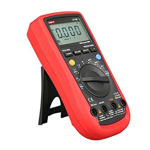 UNI-T UT107 Battery Test Automotive Multimeter Handheld Digital LCD Duty Ratio Measurement Tester Tools Stevlogs