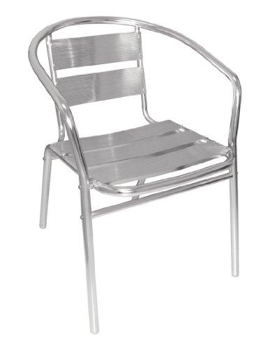 chaise jardin aluminium