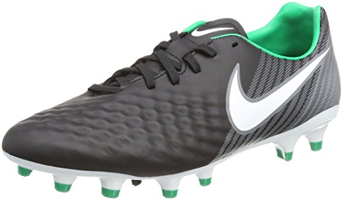 Nike Magista Onda Ii Fg, Zapatillas de Fútbol para Hombre, Multicolor (Black/white-cool Grey-stadium Green), 42 EU