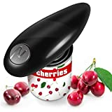 Electric Can Opener, Kitchen Full Automatic Can Opener with One-Start Button, Restaurant Smooth Edge Hand Free Can Opener, Automatic Can Opener, Best Electric Tin Opener for Senior Old Arthritis