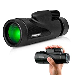 Monocular Telescope with Low Night Vision – Evershop High Power Monoculars for Adults and Kids for Bird Watching Hunting Camping Travelling Wildlife Secenery