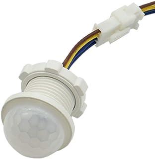 Detector de movimiento de luz infrarroja - Interruptor PIR de iluminación para el hogar, sensor LED, ángulo de detección de 100 grados