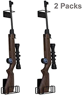 E-ONSALE Pack of 2 AmeriGun Club Easy Use Mount Anywhere Shotgun or Rifle Rack (Rifle/2 Pack)