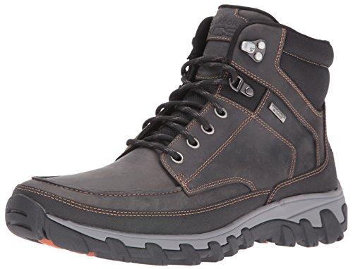 Rockport Men's Cold Springs Plus Moc Snow Boot- Castlerock Grey-8 M