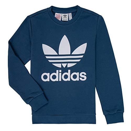 adidas Kinder Trefoil Sweatshirt, Night Marine/White, 140