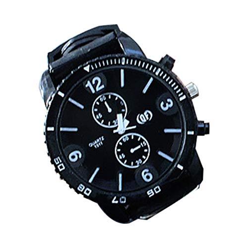 HBR Reloj Reloj de los Deportes del dial Grande de Silicona Impermeable Reloj de los Hombres del cronógrafo de los Deportes Accesorios de Moda