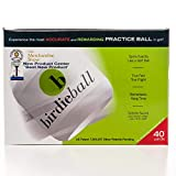 BirdieBall Practice Golf Balls, Full Swing Limited Flight Golf Practice Balls, Perfect Training Aid for All Golfers (pack of 12)
