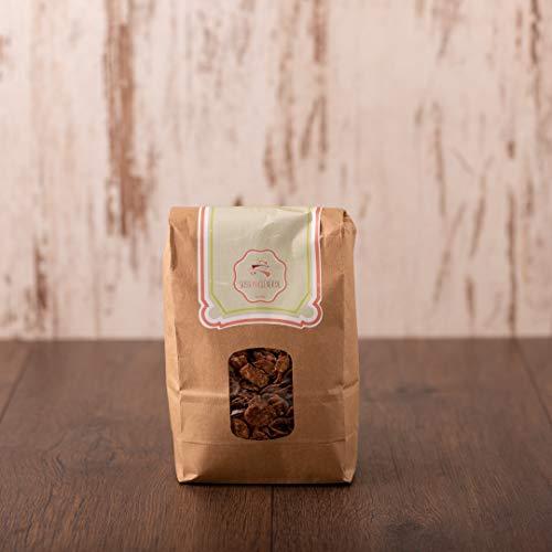 süssundclever.de® Bio Cornflakes Schoko | Vollmilch | 900 g (2 x 450 g) | plastikfrei und ökologisch-nachhaltig abgepackt