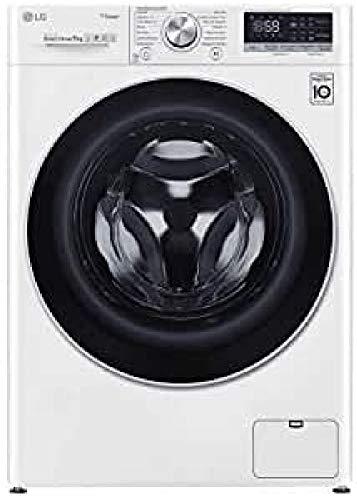 Lavadora inteligente de carga frontal LG F4WV709P1 de 9 Kg y 1.400 rpm