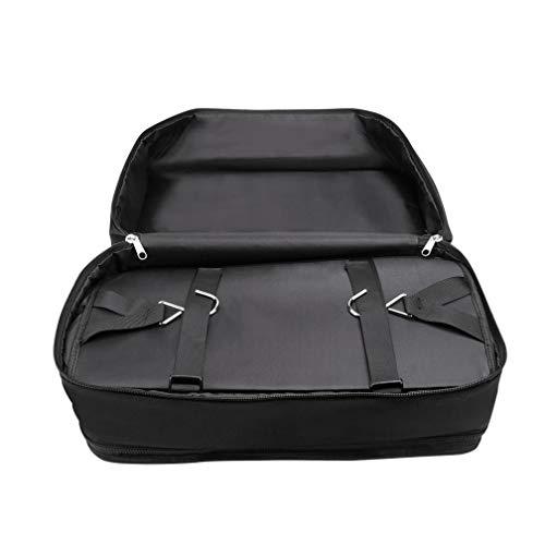 Ikevan Portable Luggage System Hanging Travel Shelves 3 Layer Storage Bag Organizer