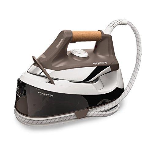 Rowenta Easy Steam VR7260F0 - Centro planchado alta presión 5,5 bares, golpe de vapor de 210 g/min, vapor continuo de 100 g/min suela Airglide con depósito de 1,2 L y Modo Eco, para todos los tejidos