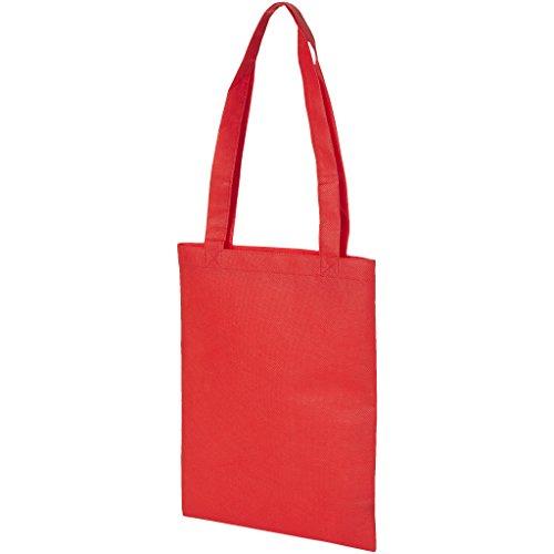 Bullet - Bolso pequeño de tela estilo tote modelo Eros (25 x 35cm) (Rojo)
