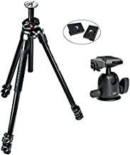 Manfrotto MK290XTA3-BH 290 Xtra Ball Head Kit (Black) and Two ZAYKiR RC2 Quick Release Plates