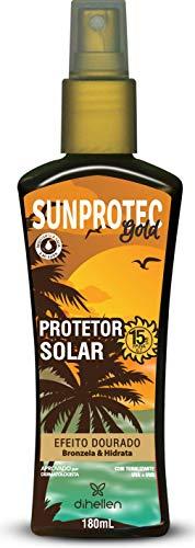 Protetor Solar FPS 15 Sunprotec Gold, Di Hellen Cosméticos