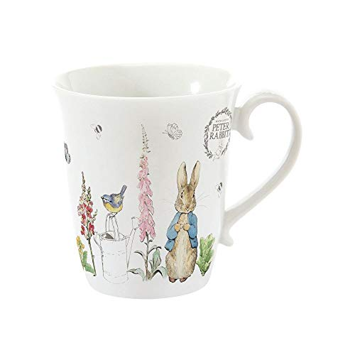 Stow Green Beatrix Potter Peter Rabbit Classic Tasse mit Geschenkanhänger, 275 ml