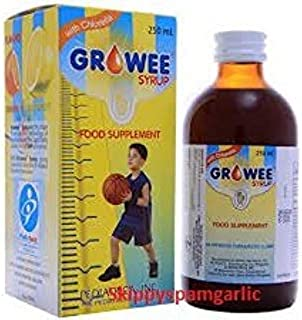 Growee Syrup Multivitamins (Growee with Chlorella Growth Factor) 120ML PACK OF 2
