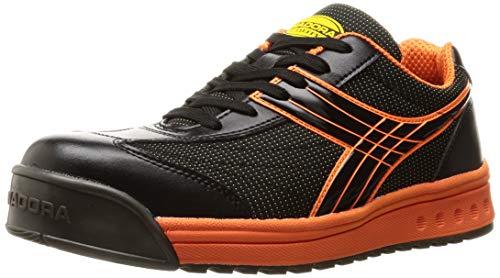 [ディアドラユーティリティ] 安全作業靴 JSAA認定 プロスニーカー PCK272 ブラック/オレンジ/ブラック 26.5 cm 3E