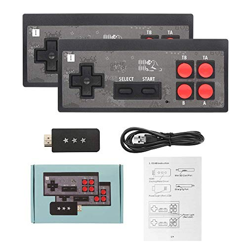 Home Game Console HD TV Game Console Y2 + HD Video Game Console Wireless Game Console Handle Retro Game Console