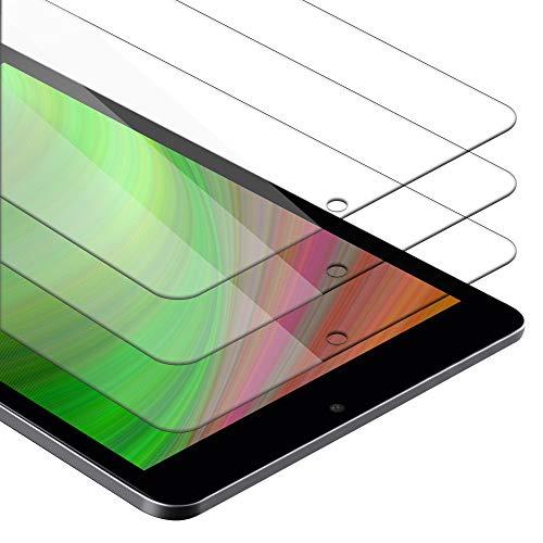 Cadorabo Película de Armadura 3X Compatible con Huawei MediaPad T3 7 (7.0') - película Protectora en Transparencia ELEVADA Paquete de Vidrio Templado en dureza 9H con compatibilidad táctil 3D