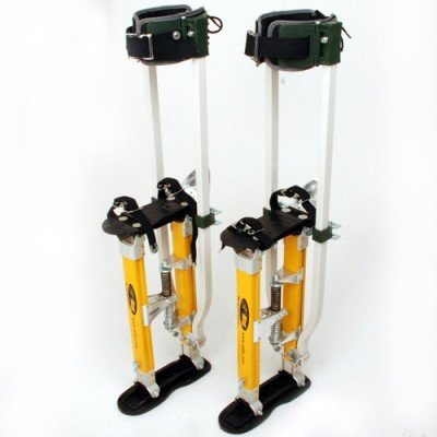 SurPro S2.1 Dual Legs Support Magnesium Drywall Stilts 15-23 in. (SUR-S2-1523MP)