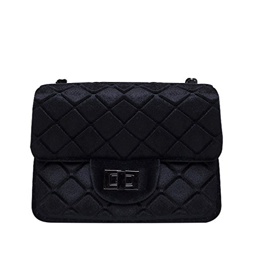 Noella Fashion Alba Crossover Bag Black