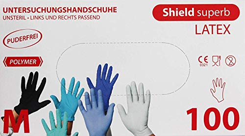 Weiss atex Handschuhe