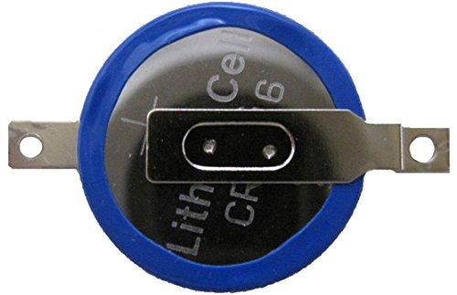 タブ付きボタン電池 CR1616 10個 ゲームボーイ・アドバンス用 [並行輸入品]