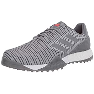 adidas Men's CODECHAOS Sport Golf Shoe, Grey Two/Grey Three/Grey one, 10.5 Medium US