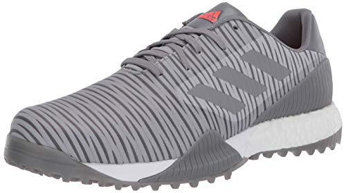 adidas Men's CODECHAOS Sport Golf Shoe, Grey Two/Grey Three/Grey one, 10.5 Medium US