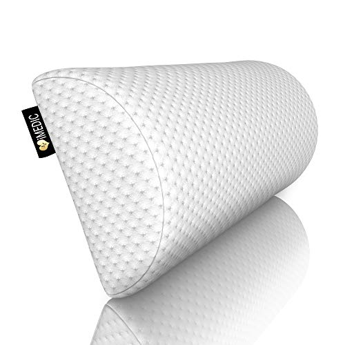 Medipaq Half Moon' Memory Foam Cushion Pillow - Soft Yet Firm - Use for Neck, Lower Back, Knees, Legs, Feet Virtually Any Position! …