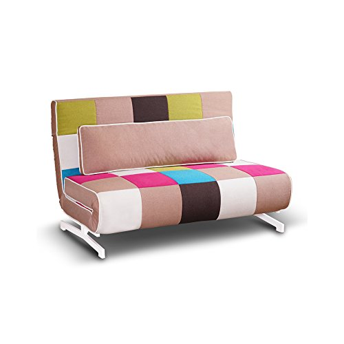 Tuoni Super divanoletto, Metallo, 140x75x88 cm, multicolore