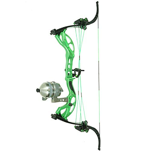 Muzzy Bowfishing LV-X Kit Powered by Oneida (8005) - Includes XD Pro Push-Button Reel, Integrated Reel Seat, Pre-spooled Test Line, Mantis II Arrow Rest, White Fish Arrow with Carp Point & Nock