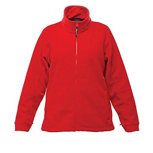 Regatta Thor 300 Damen-Fleecejacke, langärmelig 10 Klassisches Rot