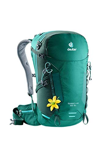 Deuter Damen Speed Lite 22 SL Rucksack, Alpinegreen-Forest, 51 cm